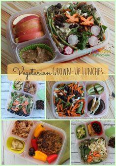 Plant-Based Grown-Up Lunches!