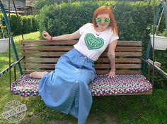 entee / Ľudové srdiečko ♥ zelené dámske tričko