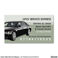 Modern gold triangle fireball limousine business card pinterest limo taxi service airport and station price list double sided standard business cards pack of 100 colourmoves