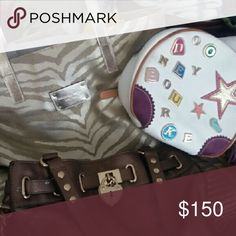 Bundle Michaelkors, dooney &bourke, juicy coutu 3 purses included in bundle. Michael kors, booney & bourke nwot and juicy couture used  about twice----- Michael kors purse sold-- not in bundle no more Michael Kors Bags Shoulder Bags