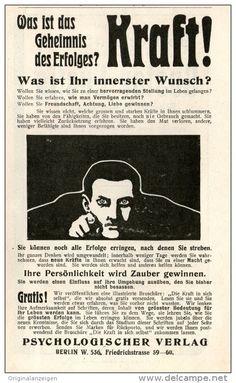 Original-Werbung/Inserat/ Anzeige 1904 - KRAFT-PSYCHOLOGISCHER VERLAG BERLIN - ca. 90 X 160 mm