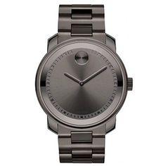 Relógio Movado Aço Cinza Masculino - 3600259