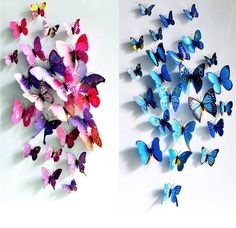 Cheap decorative poster, Buy Quality pvc directly from China butterfly wall stickers Suppliers: 12 Pcs/Lot PVC DIY Butterfly Wall Stickers Home Decor Poster for Kitchen Bathroom Fridge Adhesive to Wall Decals Decoration 3d Butterfly Wall Decor, Diy Butterfly, 3d Butterfly Wall Stickers, Butterfly Wedding, Butterfly Design, Butterfly Pattern, Butterfly Theme Room, Butterfly Bedroom, Butterfly Fashion