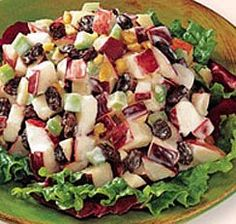 My Classic Apple Salad - Weight watchers 5 Points plus. Great for a party food!