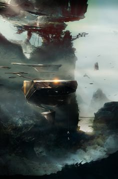 HAPPENINGS by Giovanni Grauso on Behance.More concept art here.
