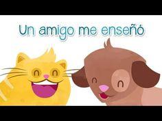 ▶ Canción infantil de los animales. Un amigo me enseñó. - YouTube. Animales y alfabeto.