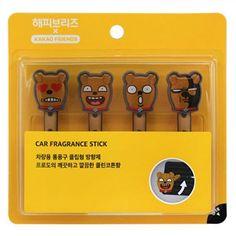 Kakao Talk Friends Cute Characters Car Vent Clip Air Freshener Stick Frodo…