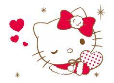Hello Kitty Bow, Hello Kitty Themes, Hello Kitty My Melody, Hello Kitty Pictures, Sanrio Hello Kitty, Meow Tattoo, Hello Kitty Christmas, Gifs, Hello Kitty Collection