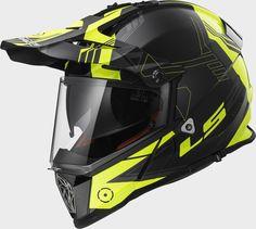 Equipamento- O  Pioneer MX436 da LS2 Helmets