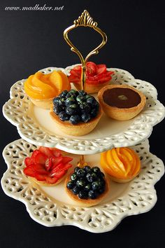 Simple but appetizing tarts!!