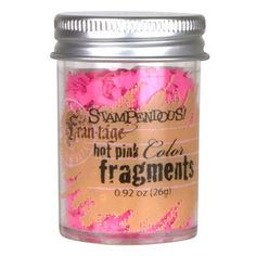 Stampendous What's New » Hot Pink Color Fragments