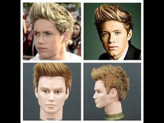 Niall Horan Haircut Tutorial - One Direction Hairstyles - TheSalonGuy - YouTube