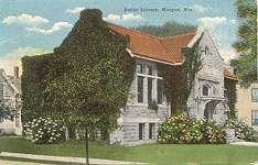 Waupun, WI Carnegie library  Waupun Historical Museum.