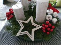 Table Decorations, Furniture, Home Decor, Xmas, Homemade Home Decor, Home Furnishings, Decoration Home, Arredamento, Dinner Table Decorations
