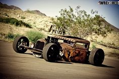 Encore for one of the most craziest rat rods in the world. My buddy Mike Partyka's rad rat. Rat Rod Cars, Rat Rods, Rat Rod Pickup, Rusty Cars, Kustom Kulture, Bobber, Rats, Ol, Harley Davidson