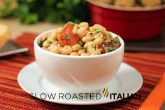 Italian Style Crock Pot Beans
