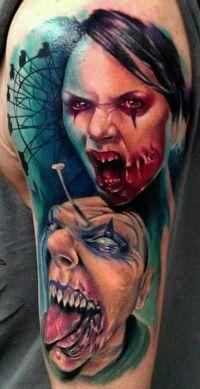 Zombie tattoos - Tattooimages.biz