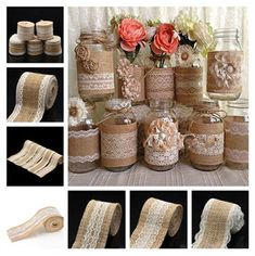 Wedding Table Runner Natural Burlap Vintage Floral Roll Lace Jute Rustic Decor 2019 Venue Decorations Home Furniture & DIY The post Wedding Table Runner Natural Burlap Vintage Floral Roll Lace Jute Rustic Decor 2019 appeared first on Lace Diy. Bridal Shower Table Decorations, Bridal Shower Tables, Bridal Shower Rustic, Diy Wedding Decorations, Decor Wedding, Baptism Decorations, Garden Wedding, Wedding Ideas, Burlap Rolls