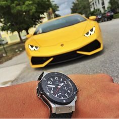 Hublot x Lamborghini 🔥 Photo by @elcapitan125 #DailyWatch