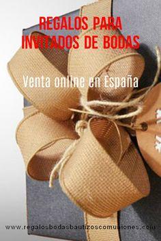Regalos Bodas. Obsequios para invitados. Detalles y recuerdos. Compra online en España.