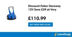 Discount Feber Dareway 12V Save £29 at Very, £110.99 at Very.co.uk