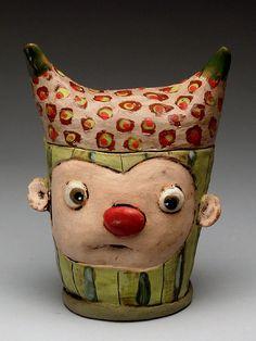Tammy Marinuzzi Jar at MudFire Gallery