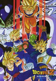 Dragon Ball Z poster 2010