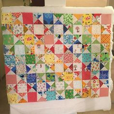This is wip, s quilt for a little boy. Ohio star quilt, inspired by the amazing, super talented @redpepperquilts. #ohiostarquilt #scrapquilt #ispyquilt #patchworkquilt
