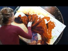 4 Girls Fingerpaint Video