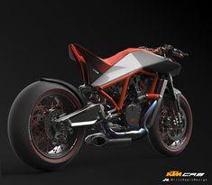 KTM CR8 - Cafè Racer on Behance