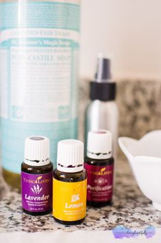 Blog Post: Makeup Brush Cleaner using Young Living Essential Oils www.theartoflivingbeautifully.net