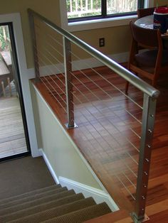 Stainless Steel Interior Railing ‹ San Diego Cable Railings