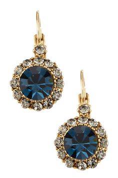 Antique Circle Crystal Drop Earrings  Now all i need is the perfect dress to wear them with...