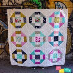Greek Crossing - Free Quilt Pattern for Olfa Designer Spotlight Series