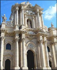Facciata del  Duomo Siracusa