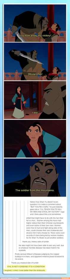 I laughed, I cried. It was better than the Aristocats.