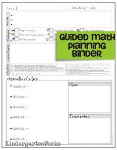 Guided Math Lesson Plan Template Luxury How to Make Teacher Planning Work for You Math Math Lesson Plans, Lesson Plan Templates, Math Lessons, Lessons Learned, Math Teacher, Math Classroom, Teaching Math, Teacher Binder, Teaching Ideas