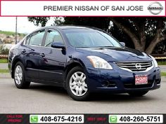 2012 Nissan Altima 2.5 S Call for Price  miles 408-675-4216 Transmission: Automatic  #Nissan #Altima #used #cars #PremierNissanofSanJose #SanJose #CA #tapcars