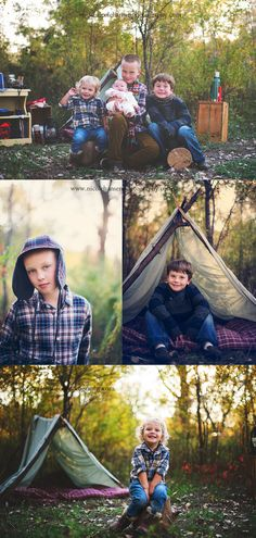 children's photography evoking you - camping session, love it!