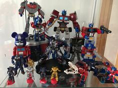 Some of my Primes on display October 2016.