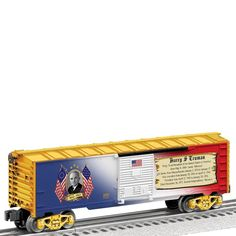 Lionel Trains Made in the USA Presidential Series Boxcar - Harry Truman