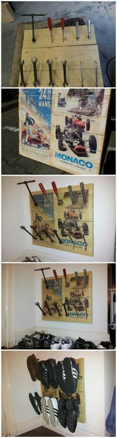DIY shoe rack... Did it myself