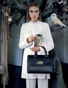 Mulberry. Fall-Winter 2013. Model: Cara Delevingne