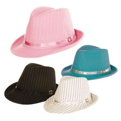 Love these - want every single color - All City Hats Mens Fedoras