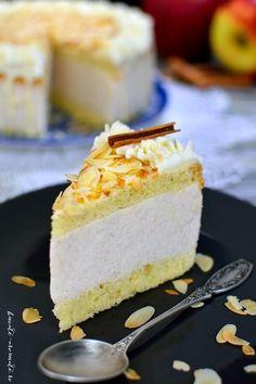 toamnă Cream Cake, Ice Cream, Romanian Food, Something Sweet, Desert Recipes, Creme, Nom Nom, Bacon, Sweet Treats
