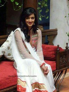 Erica Fernandes in Salwar
