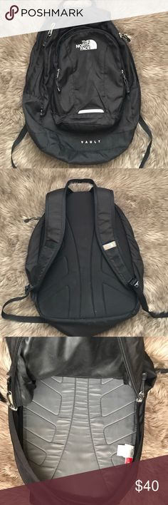 North Face Back Pack Big backpack. In good condition. Lots of life left. Good for college or high school student 18.5 inches long 13 inches wide North Face Bags Backpacks