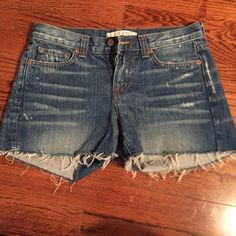 J brand denim shorts Denim shorts, great condition size 26 J Brand Shorts Jean Shorts