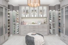 Trendy walk in closet designs with vanity 44 Ideas Master Closet Design, Walk In Closet Design, Master Bedroom Closet, Closet Designs, Bathroom Closet, Dressing Room Closet, Dressing Room Design, Wardrobe With Dressing Table, Organiser Son Dressing