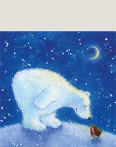 Christmas (by category) « Jan Pashley – Illustration / Design Winter Pictures, Christmas Pictures, Christmas Art, Watercolor Christmas Cards, Bear Art, Winter Art, Christmas Illustration, Whimsical Art, Pictures To Paint
